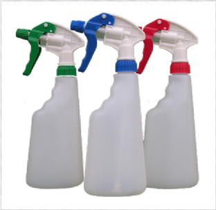 Spray Bottle & Head Complete 750ml
